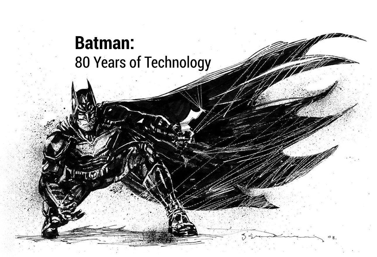 BATMAN: 80 YEARS OF TECHNOLOGY La mostra che celebra gli 80 anni del supereroe di Gotham City